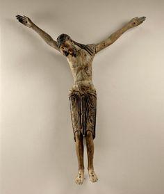 Religious Icons, Religious Art, Romanesque Art, Art Roman, Cross Art, Jesus On The Cross, Effigy, Medieval Art, Gothic Art