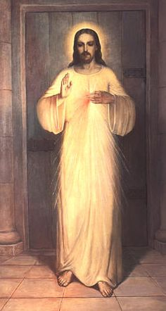 """""""I desire that Adoration take place for the intention of imploring Mercy for the world,"""" Jesus to St. Maria Faustina of the Blessed Sacrament."""