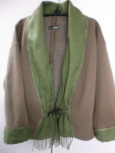 Sewing Sweatshirt Jackets | ... to embellish Londa's Creative Sweatshirt Jackets - sew-whats-new.com
