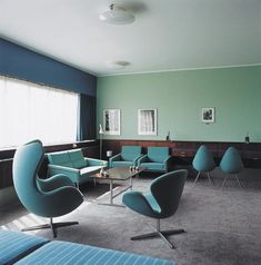 Room 606 at the Radisson Blu Royal Hotel by Arne Jacobsen