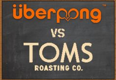 Uberpong Vs TOMS at SXSW | Tuesday, March 17, 2015 | 10am-7pm | TOMS Austin: 1402 S. Congress Ave., Austin, TX 78704 | All-day ping-pong extravaganza with giveaways; order FREE single-side custom Uberpong paddle before March 2 for pickup at event | Details: http://uberpongtoms.splashthat.com/