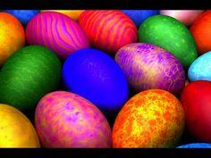 Яйца к Пасхе. Оригинальная покраска яиц - YouTube