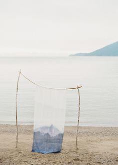 Coastal indigo wedding inspiration | Browse Wedding & Party Ideas | 100 Layer Cake