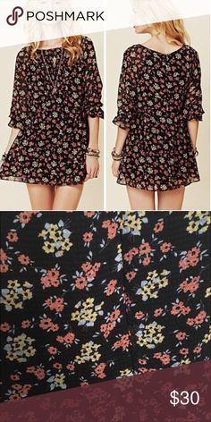 Free People Mini Dress Free People Doll Pant Mini Dress, it is in perfect condition. However, it is missing the the size tag (stitching came undone, FP label still there). Super cute Mini Dress to style or dress down with leggings/tights. Free People Dresses