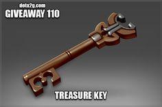Giveaway 110 - Treasure Key