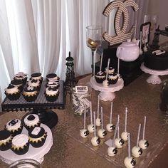 "expensivetastexox: ""X "" Glam life 💅💅 Birthday Goals, 18th Birthday Party, Birthday Celebration, Birthday Party Themes, Birthday Cakes, Chanel Birthday Party, Sleepover Birthday Parties, Chanel Party, Sweet 16 Parties"