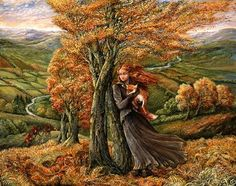 """""""Saved from the Hounds"""" par Josephine Wall"""