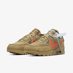 sports shoes ebe4a 470e5 AA7293-200 Off-White x Nike Air Max 90 Desert Ore grailify (5