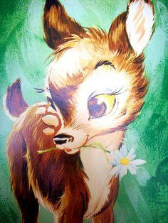 bambi by helendeer, via Flickr