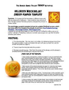 Free Halloween mockingjay template for pumpkin carving (warning: it's hard! Pumpkin Uses, Pumpkin Template, Hunger Games Mockingjay, Halloween Pumpkins, Pumpkin Carving, Holiday Fun, Word Search, Really Cool Stuff, Templates