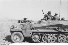 Nordafrika, Schützenpanzer