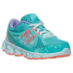 Girls\u0027 Preschool New Balance 750 Running Shoes | Finish Line | Teal/Glow In