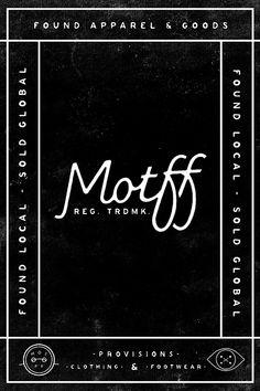 motff (phone) by Josh Miranda … perfect spacing!!