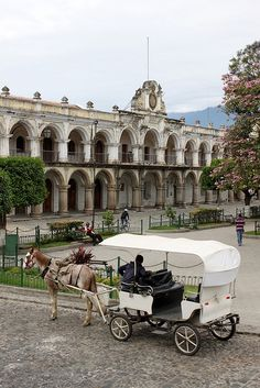 Antigua, Guatemala - The best white mocha in the world is in a coffee shop in this square.