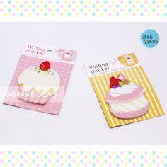 MEMO PAPER [CAKE] ヅ