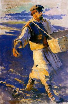 Leon Wyczółkowski (Polish, (1852-1936) - Siewca / Sower, 1901-1902