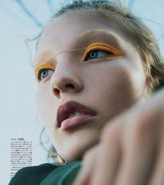 Fashion Editorial Vogue Japan Makeup Ideas For 2019 Male Makeup, Clown Makeup, Models Makeup, Beauty Makeup, Skull Makeup, Makeup Geek, Halloween Makeup, Halloween Eyeshadow, Pretty Halloween