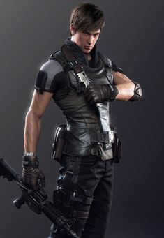 lianxi02, yulin ma My Character, Character Drawing, Character Concept, Cyberpunk Character, Hero Costumes, Sci Fi Characters, Shadowrun, Resident Evil, Anime Guys
