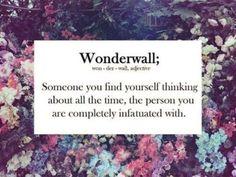 <*> WONDERWALL <*>