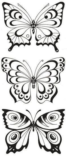 Butterfly Stencil, Butterfly Drawing, Butterfly Template, Glass Butterfly, Butterfly Crafts, Butterfly Pattern, Quilling Butterfly, Butterflies, Wood Burning Stencils
