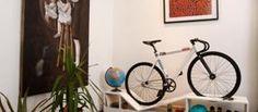 Buy Or DIY: Bike Hanger Handle Bar Hack | Apartment Therapy