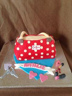 Cath Kidston Handbag Cake I created :-)