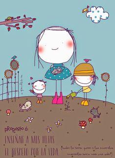 Enseñar a nuestros hijos el respeto. Painting For Kids, Art For Kids, Sketch Manga, Stick Figures, Cute Images, Children's Book Illustration, Gravure, Cute Drawings, Cute Art