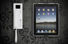 The wallee ipad wall mount case turns your iPad into a kitchen appliance - handy!