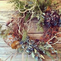 wreath {via studio choo}
