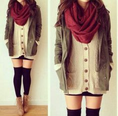style for winter by MissKelebek