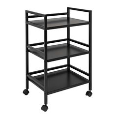 The Honey Can Do 3 Tier Metal Rolling Cart White makes a great addition to your closet or pantry, providing a mobile storage solution for everything. Rolling Storage, Rolling Carts, Serving Cart, Mobile Storage, Utility Cart, Storage Cart, Metal Shelves, Shelving, Organize Your Life