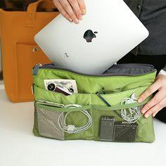 Slim Bag-in-Bag (Apple Green) www.inviteL.us