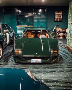 Ferrari - My list of the best classic cars Ferrari F40, Maserati, Lamborghini Gallardo, Carros Lamborghini, Pagani Huayra, Mclaren P1, Bmw Classic Cars, Classy Cars, Classic Motors