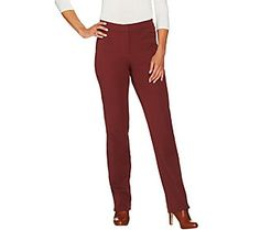 Isaac Mizrahi Live! Petite 24/7 Stretch Straight Leg Pants