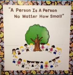 A Person Is A Person No Matter How Small! - Back-To-School Bulletin Board
