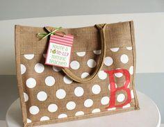 "20 cute, easy, cheap & practical teacher appreciation gift ideas, like this ""Tote""ally terrific tote."