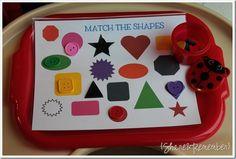 Preschool Activity Trays 2