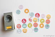 FREE summer circles printable