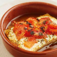 Greek Recipes, Low Carb Recipes, Vegetarian Recipes, Healthy Recipes, Feta, Good Food, Yummy Food, Mezze, Healthy Eating Tips