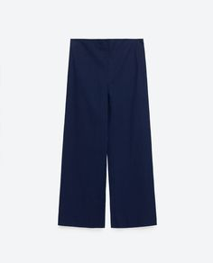 Image 8 of CROPPED TROUSERS from Zara