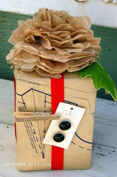 Sewing Pattern ~ Gift Wrap, nice for a sewing friend and good for those crap patters--we all have them.