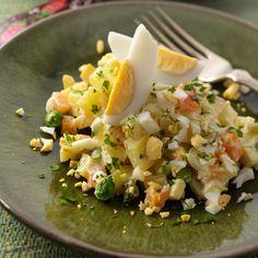 Découvrez la recette Salade polonaise d'hiver sur cuisineactuelle.fr.