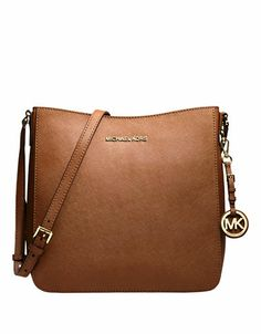 Michael Michael Kors Jet Set Traveler Messenger Bag LUGGAGE