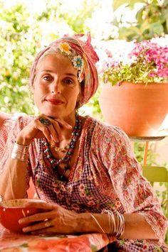 Boho is ageless. Bohemian Mode, Bohemian Style, Boho Chic, Bohemian Clothing, Hippie Chic, Gypsy Style, Boho Gypsy, My Style, Gypsy Decor