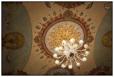 lampadario centrale della sala