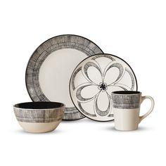 Found it at Wayfair - Gramercy Everyday 16 Piece Dinnerware Set  sc 1 st  Pinterest & 16-Piece Speckle Stoneware Dinnerware Set   Stoneware dinnerware ...