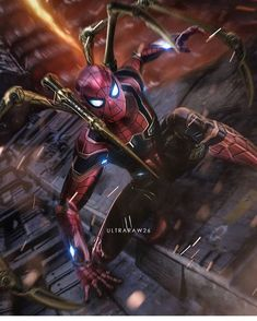 Iron spider man in infinity war Marvel Comics, Heros Comics, Marvel Heroes, Marvel Avengers, Spider Men, Iron Spider, All Spiderman, Amazing Spiderman, Avengers Wallpaper
