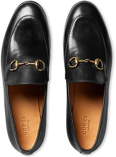 Leather Gucci loafers to add just a touch of tomboy.