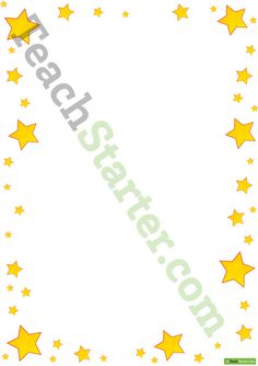 Star Page Borders   Teaching Resources - Teach Starter