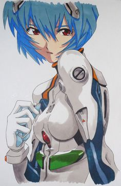 Rei Ayanami by ~AkaBruce on deviantART